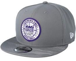 reputable site bf4cf b0e60 Sacramento Kings Tipoff Series 9Fifty Grey Snapback - New Era