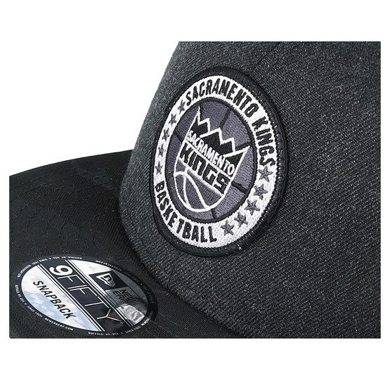 a7ed51a9cf90d Sacramento Kings Tipoff Series 9Fifty Heather Black Snapback - New Era caps  - Hatstoreworld.com