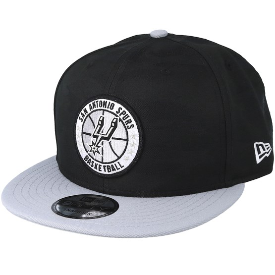 Keps San Antonio Spurs Tipoff Series 9Fifty Camo Black Snapback - New Era - Svart Snapback