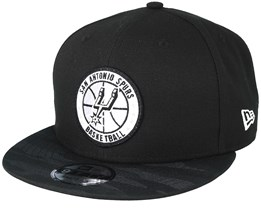 San Antonio Spurs Tipoff Series 9Fifty Black Snapback - New Era