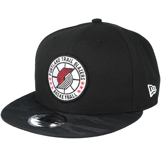 Keps Portland Trail Blazers Tipoff Series 9Fifty Black Snapback - New Era - Svart Snapback