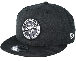 Oklahoma City Thunder Tipoff Series 9Fifty Heather Black Snapback - New Era