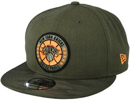 New York Knicks Tipoff Series 9Fifty Olive Snapback - New Era