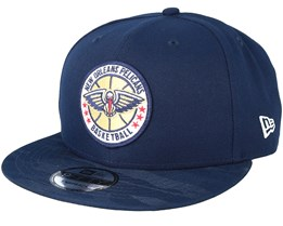 New Orleans Pelicans Tipoff Series 9Fifty Navy Snapback - New Era