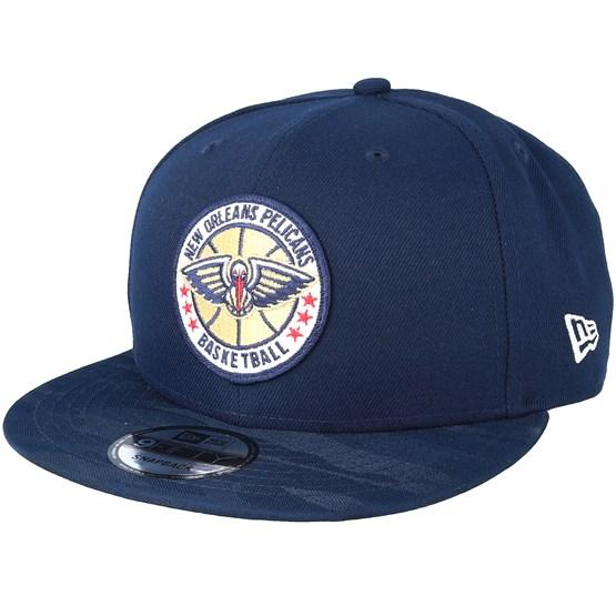Keps New Orleans Pelicans Tipoff Series 9Fifty Navy Snapback - New Era - Blå Snapback