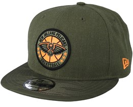 New Orleans Pelicans Tipoff Series 9Fifty Olive Snapback - New Era