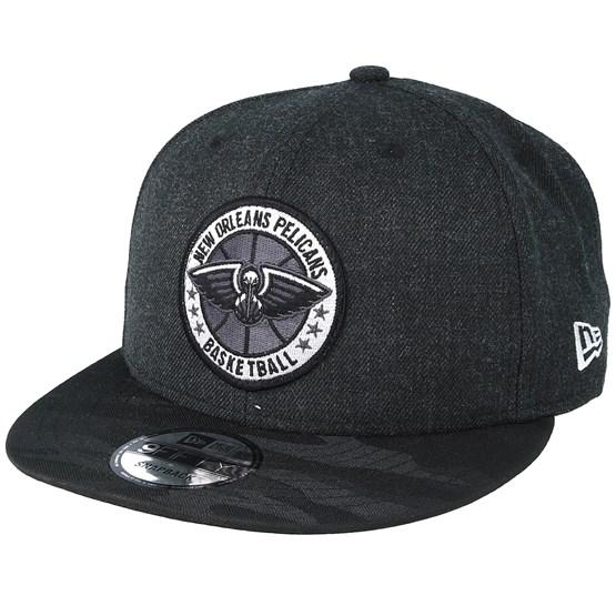 Keps New Orleans Pelicans Tipoff Series 9Fifty Heather Black Snapback - New Era - Svart Snapback