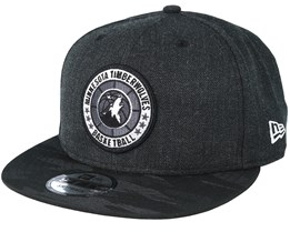 Minnesota Timberwolves Tipoff Series 9Fifty Heather Black Snapback - New Era