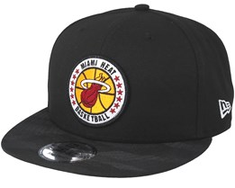 Miami Heat Tipoff Series 9Fifty Black Snapback - New Era