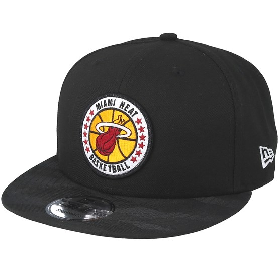 Keps Miami Heat Tipoff Series 9Fifty Black Snapback - New Era - Svart Snapback