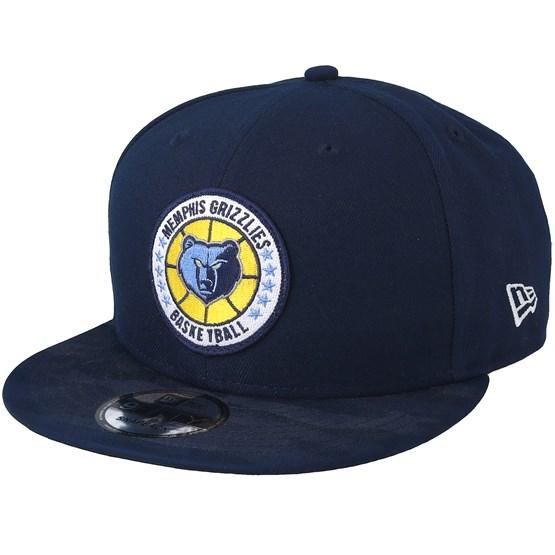 Keps Memphis Grizzlies Tipoff Series 9Fifty Navy Snapback - New Era - Blå Snapback