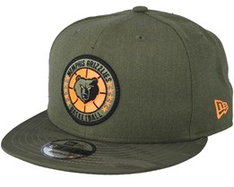Memphis Grizzlies Tipoff Series 9Fifty Olive Snapback - New Era