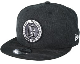 LA Clippers Tipoff Series 9Fifty Heather Black Snapback - New Era