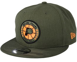 62b9be337 Indiana Pacers Tipoff Series 9Fifty Olive Snapback - New Era