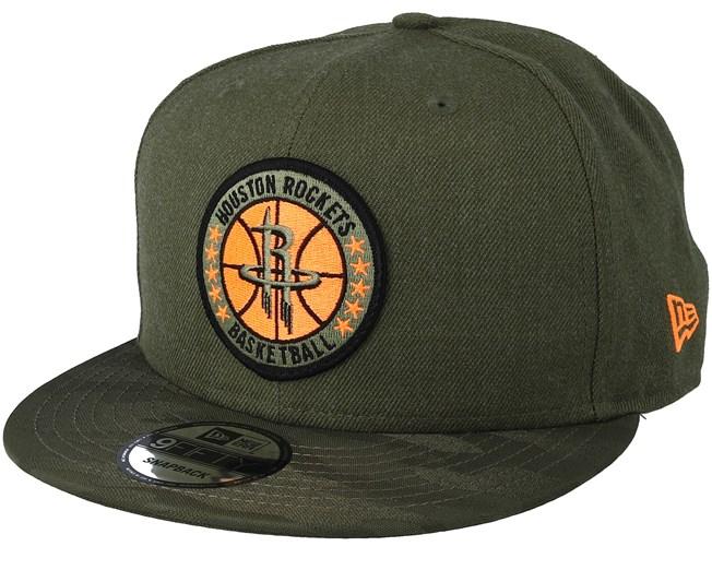 official photos 68308 286c7 Houston Rockets Tipoff Series 9Fifty Olive Snapback - New Era caps -  Hatstoreworld.com