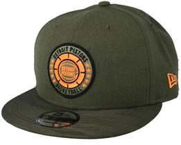 Detroit Pistons Tipoff Series 9Fifty Olive Snapback - New Era