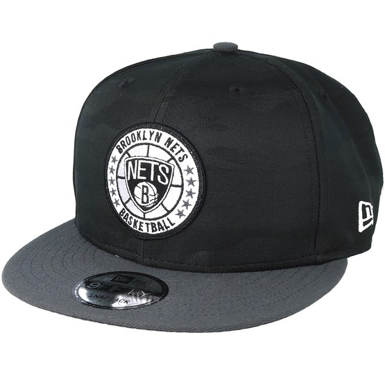 Keps Brooklyn Nets Tipoff Series 9Fifty Camo Black Snapback - New Era - Svart Snapback