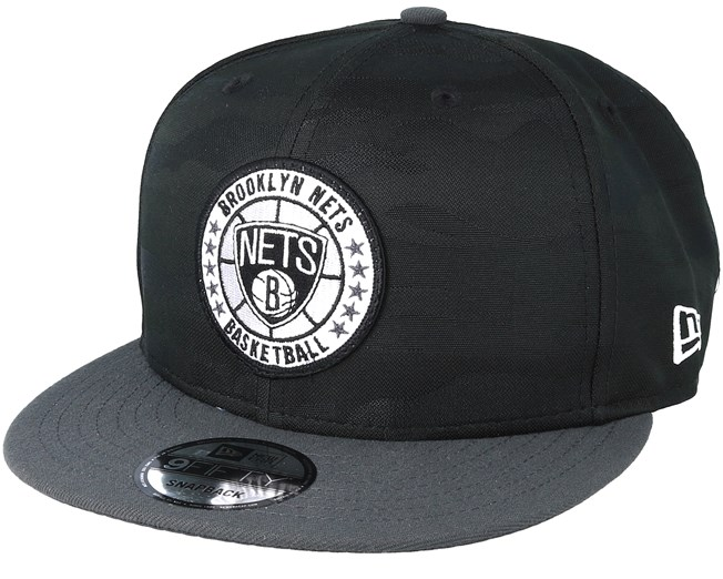 0c9f34a541b Brooklyn Nets Tipoff Series 9Fifty Camo Black Snapback - New Era caps -  Hatstoreworld.com