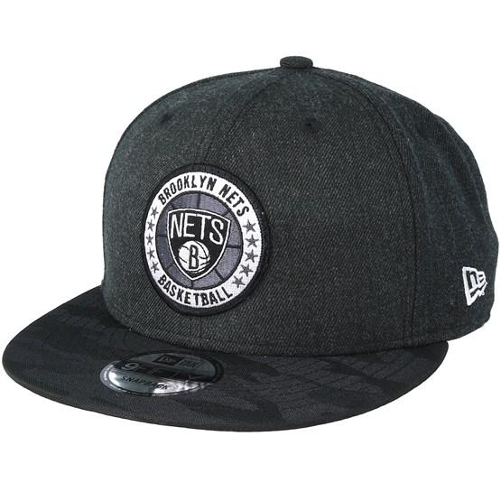 Keps Brooklyn Nets Tipoff Series 9Fifty Heather Black Snapback - New Era - Svart Snapback
