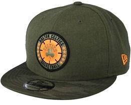 Boston Celtics Tipoff Series 9Fifty Olive Snapback - New Era