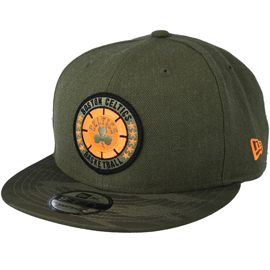 Keps Boston Celtics Tipoff Series 9Fifty Olive Snapback - New Era - Grön Snapback