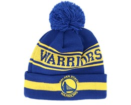 Golden State Warriors Team Jake Blue/Yellow Pom - New Era