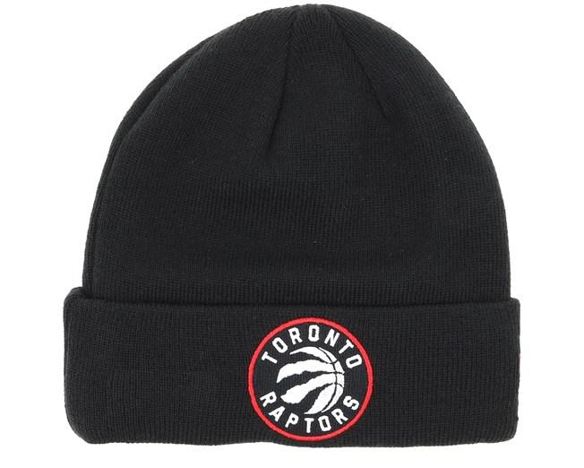 68c9ea8872dbe9 Toronto Raptors Team Essential Knit Black/Red Cuff - New Era beanies ...