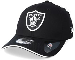 Oakland Raiders Team 39Thirty Black Flexfit - New Era 3eb61b692aac