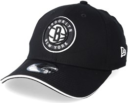 Brooklyn Nets Team 39Thirty Black Flexfit - New Era