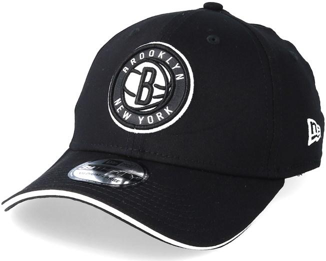 912bfbd118f5 Brooklyn Nets Team 39Thirty Black Flexfit - New Era - Start Gorra ...