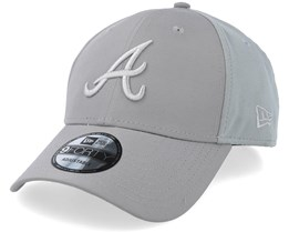 Atlanta Braves Sport Pique 9Forty Grey Adjustable - New Era