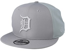 Detroit Tigers Sport Pique 9Fifty Grey Snapback - New Era