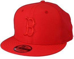 Boston Red Sox Sport Pique 9Fifty Red Snapback - New Era