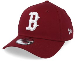 Boston Red Sox League Essential 9Forty Burgundy/White Adjustable - New Era
