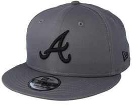 Atlanta Braves League Essential 9Fifty Grey/Black Snapback - New Era