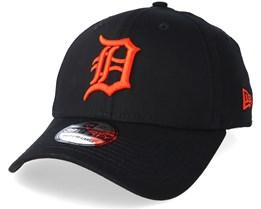 Detroit Tigers League Essential 39Thirty Black/Orange Flexfit - New Era