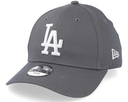 Kids Los Angeles Dodgers League Essential 9Forty Grey/White Adjustable - New Era