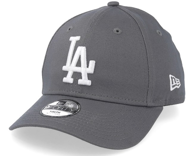 19503480 Kids Los Angeles Dodgers League Essential 9Forty Grey/White ...