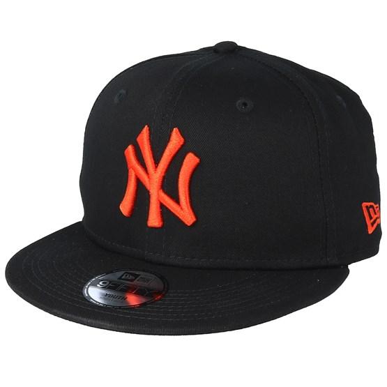 Kids New York Yankees League Essential 9Fifty Black Orange Snapback - New  Era - Bambini Cappellino - Hatstore 38063e682d41