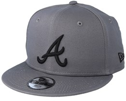 Kids Atlanta Braves League Essential 9Fifty Stone/Black Snapback - New Era