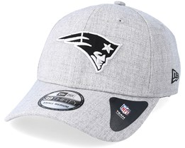 New England Patriots 39Thirty Essential Heather Grey Flexfit - New Era