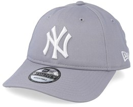 a45679d3d99 New York Yankees Essential Packable 9Twenty Grey White Adjustable - New Era