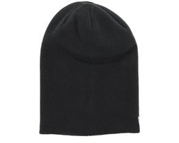 Essential Long Knit Black Long Beanie - New Era