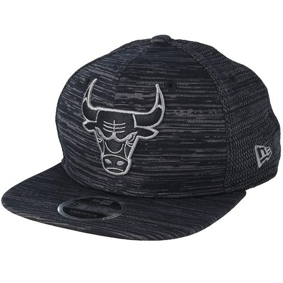 Keps Chicago Bulls Engineered Fit 9Fifty Black/Grey Snapback - New Era - Svart Snapback
