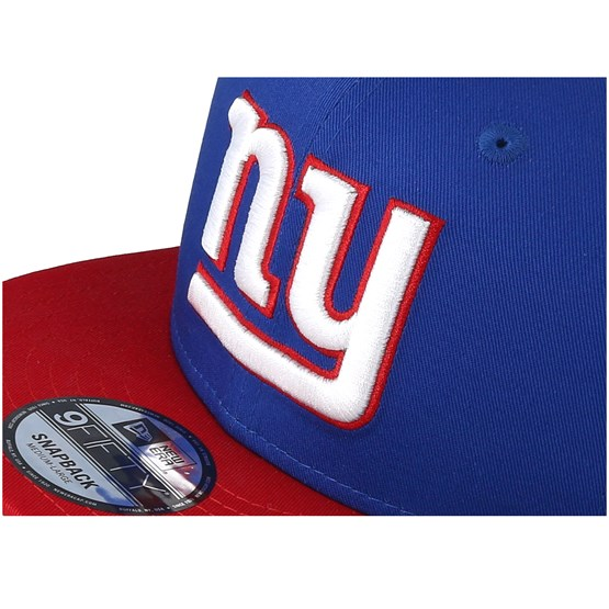 online store 918d7 65881 New York Giants Contrast Team 9Fifty Blue White Red Snapback - New Era caps    Hatstore.co.uk