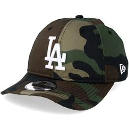 New Era Washd Camo Trucker Adjustable Cap LA Dodgers Camouflage