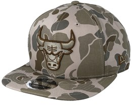 Chicago Bulls 9Fifty Desert Camo Snapback - New Era
