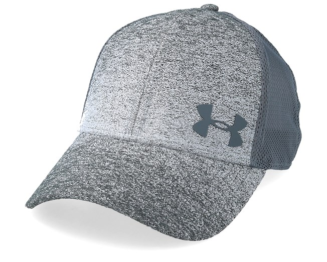 cc0986d7 Men´s Vanish Stealthy Grey Trucker - Under Armour caps | Hatstore.co.uk