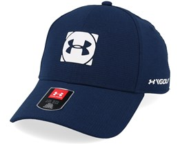 Official Tour Cap 3.0 Navy/White Flexfit - Under Armour