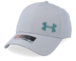 Men´s Golf Headline Cap 3.0 Grey/Teal Flexfit - Under Armour